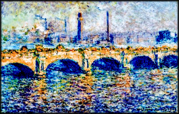 MONET waterloo-bridge-effect-of-the-sun