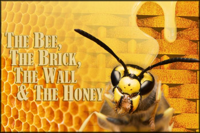 The Bee-Honey-Brick-Wall-Sm